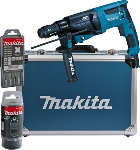 makita kombihammer fuer sds plus 26 mm im alukoffer hr2631ft13 - Makita Kombihammer für SDS-Plus 26 mm im Alukoffer, HR2631FT13
