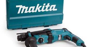 makita hr2630 230v sds plus 26mm rotary hammer 800 w 240 v blau silber 310x165 - Makita HR2630 230V SDS Plus 26mm Rotary Hammer, 800 W, 240 V, Blau, Silber