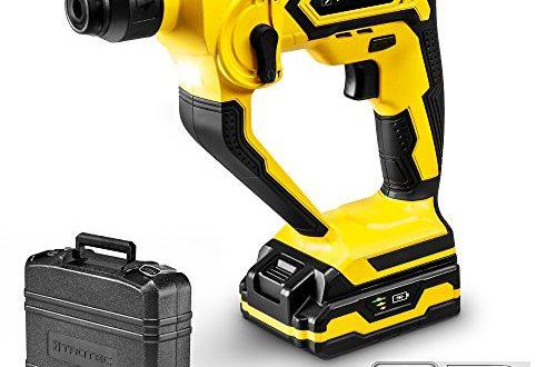 trotec bohrhammer prds 10 20v mit schnell ladegeraet 1h 1 joule bohrleistung 500x330 - TROTEC Bohrhammer PRDS 10-20V mit Schnell-Ladegerät 1h, 1 Joule Bohrleistung